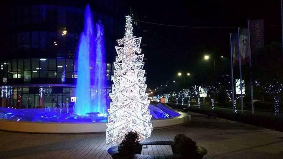 Podgorica, kićenje