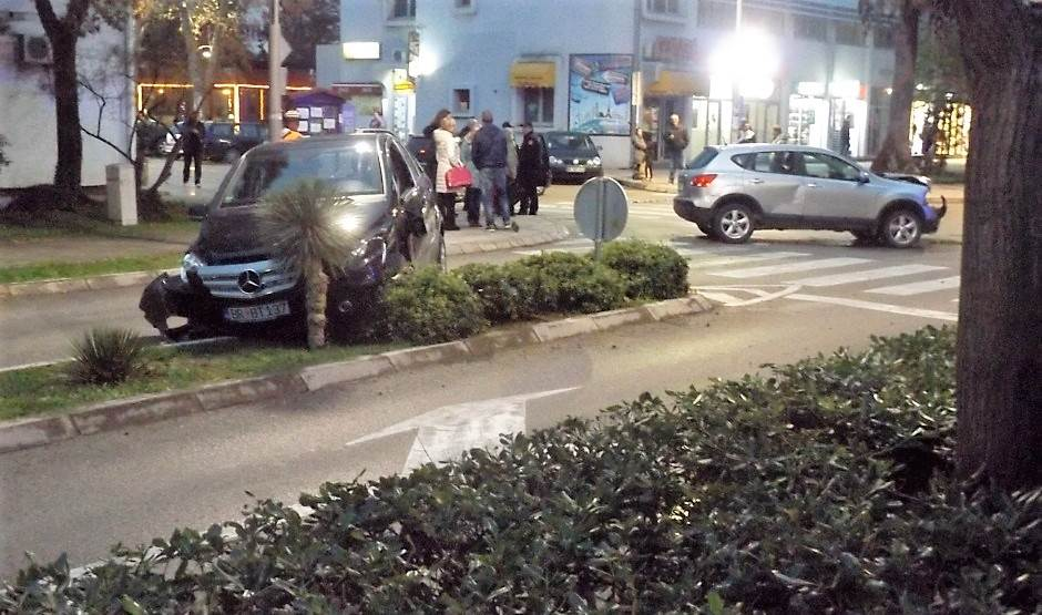 Bar: Udes kod zgrade policije! (FOTO, VIDEO)