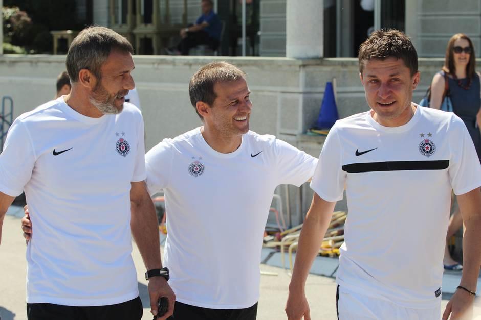 Partizan krenuo: Nema Evertona, Stojković je tu