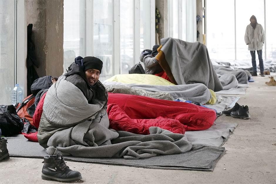 migranti, migrantska kriza, smeštaj