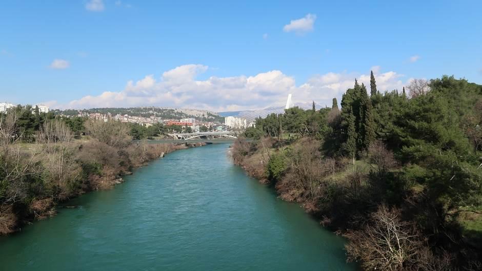 Morača rijeka Podgorica