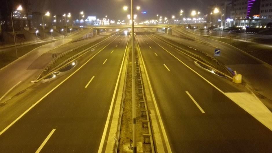 autoput, auto-put, beograd, put, noć