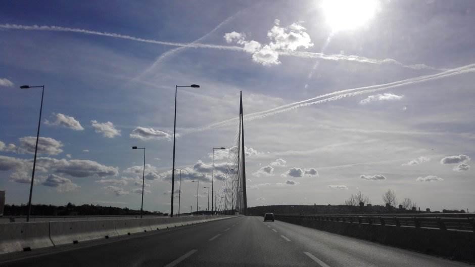 most, most na adi, put, autoput, beograd