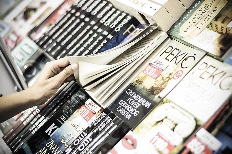 sajam knjiga, knjige