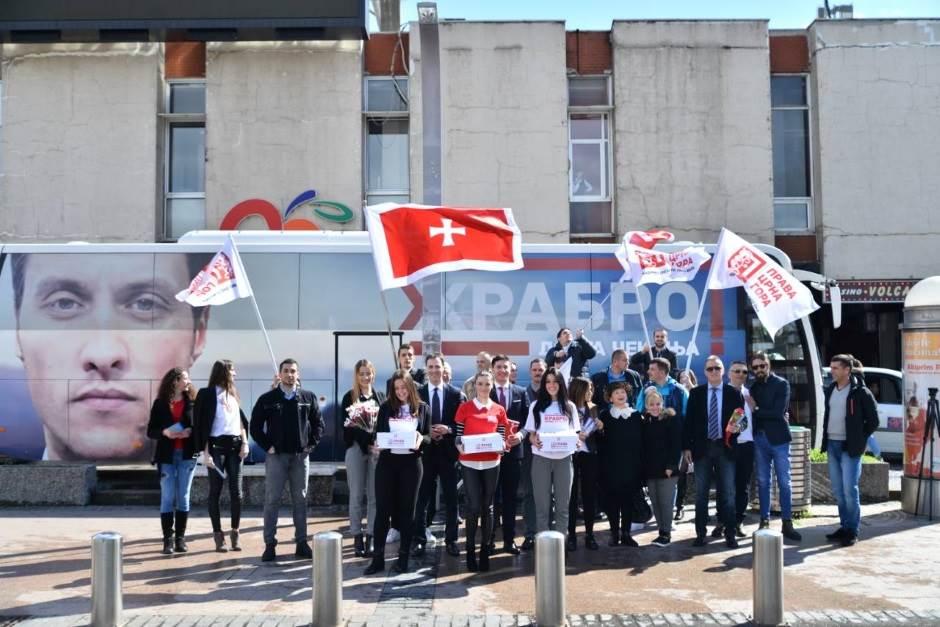 Milačić predao potpise,u kampanju kreće iz Kuča!