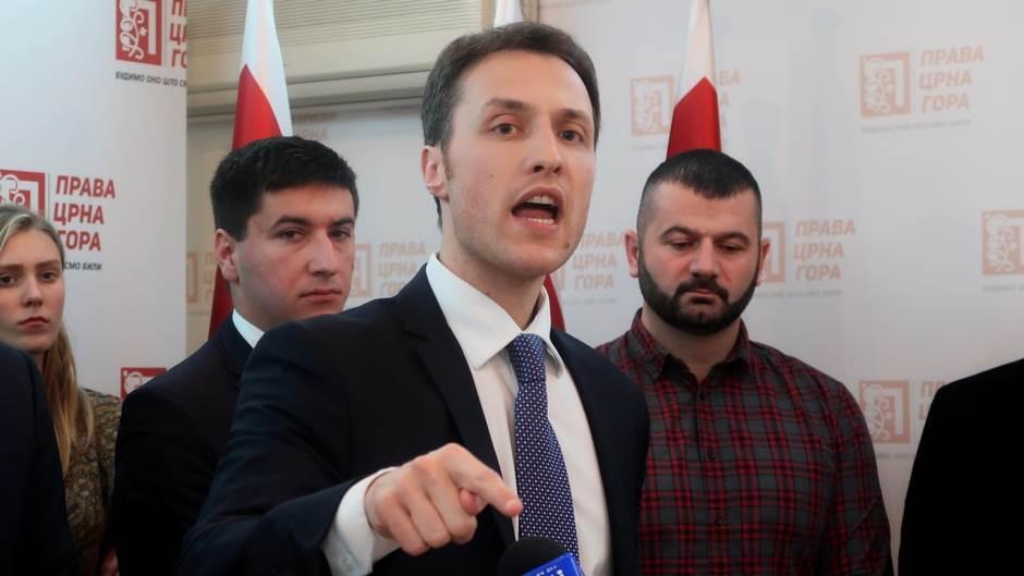 Marko Milačić, Prava Crna Gora