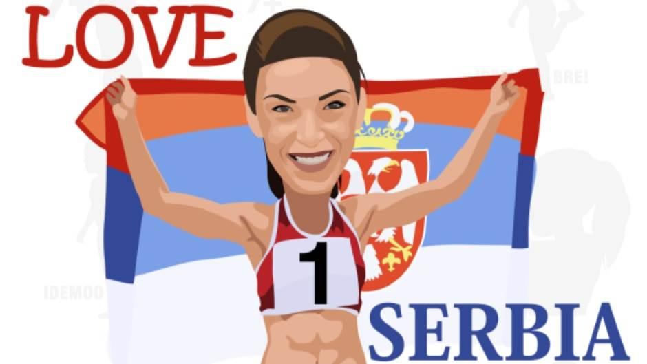 Ivana Španović IvaMoji aplikacija download Ivana Španović emotikoni