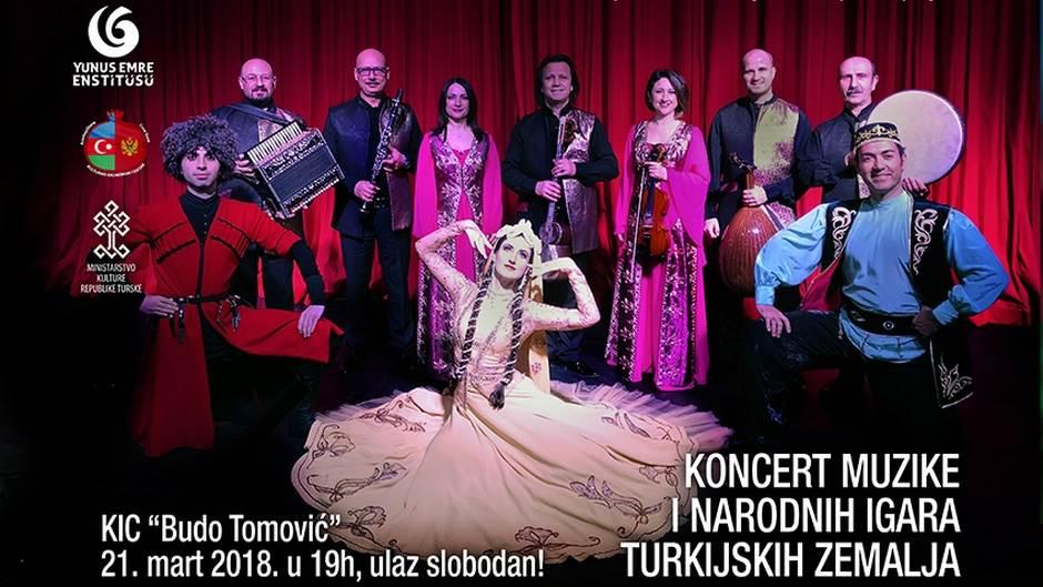Koncert muzike i narodnih igara turkijskih zemalja