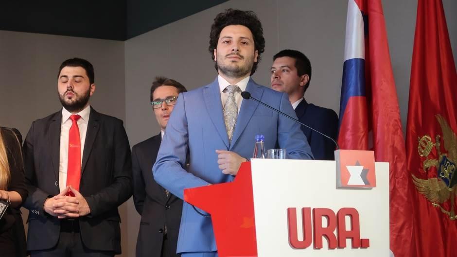 Dritan Abazović, URA