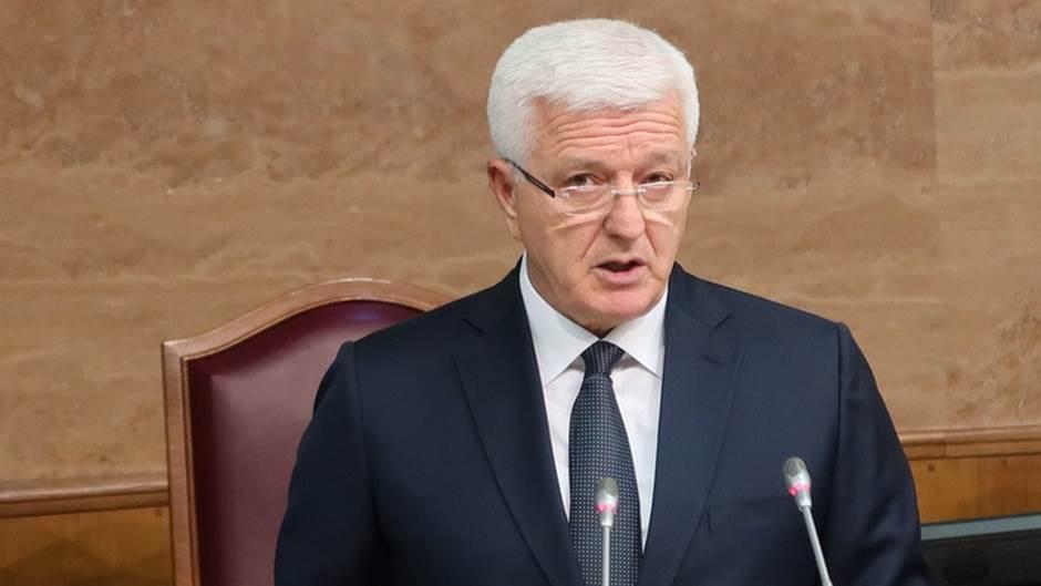 Duško Marković skupština