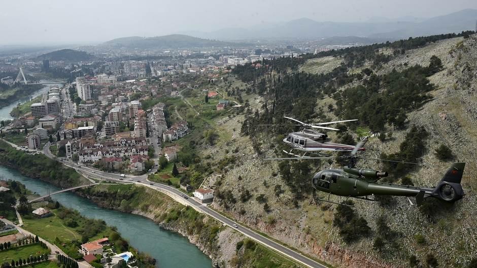 helikopter Vojska Crne Gore