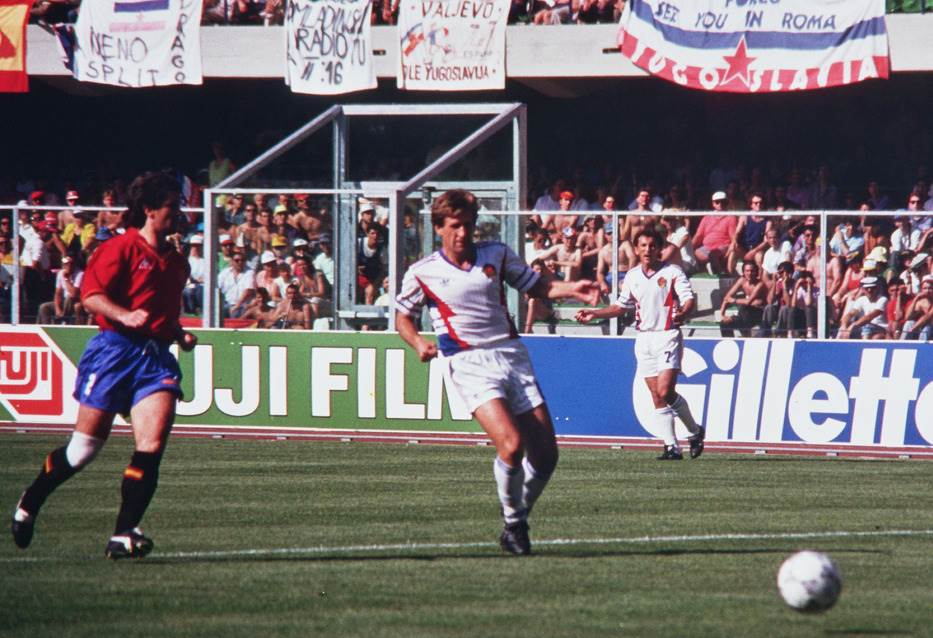 Safet Sušić, Jugoslavija, jugoslovenska reprezentacija, reprezentacija Jugoslavije, Italija 1990, Mundijal u Italiji