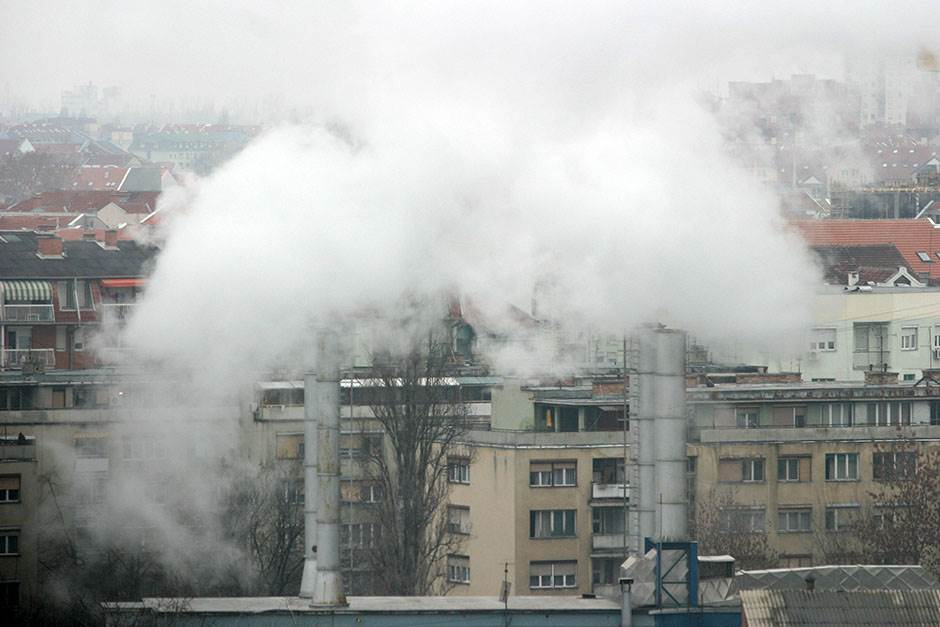 beograd zagađenje vazduh ekologija dim smog