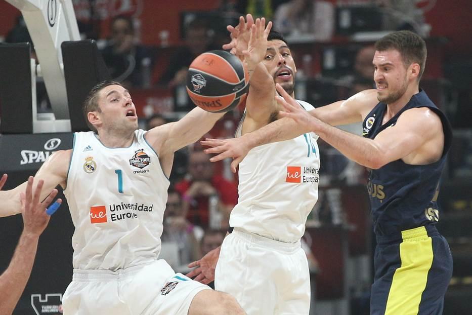 fenerbahče real madrid evroliga finale final four fajnal for