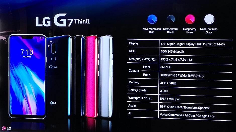 LG G7 ThinQ je van konkurencije - AI je ključ!