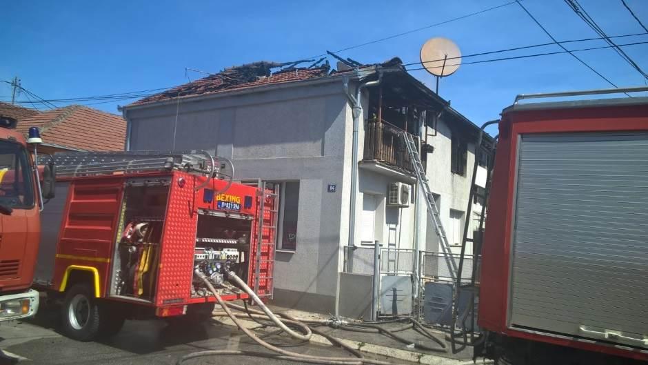 Čačak požar, požar u čačku, izgorela kuća, požar