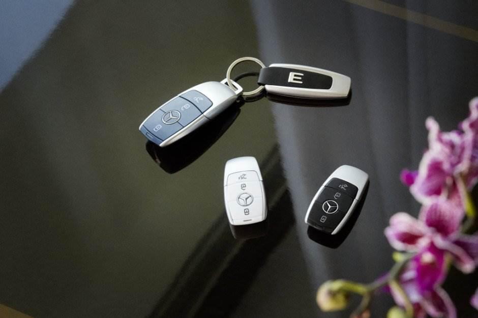 mercedes, ključ, ključ kartica