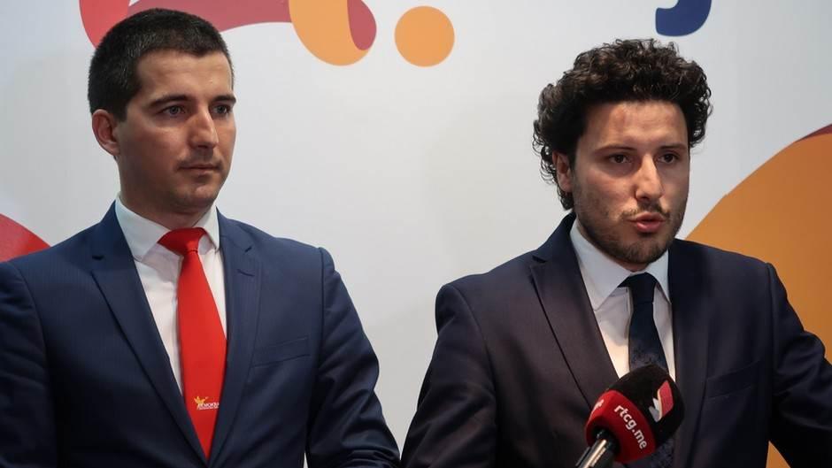 Aleksa Bečić Dritan Abazović abazović bečić