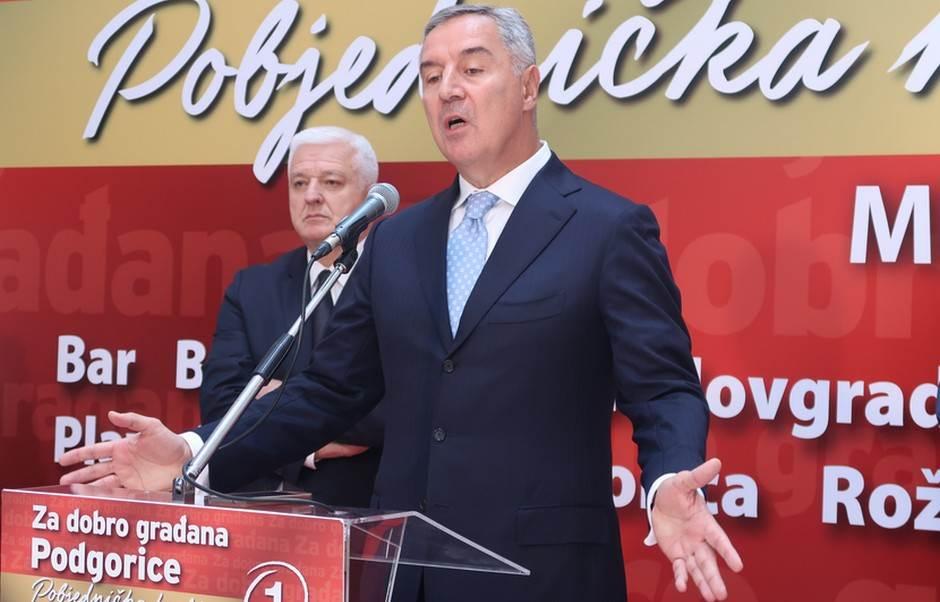 Milo Đukanović Duško Marković DPS