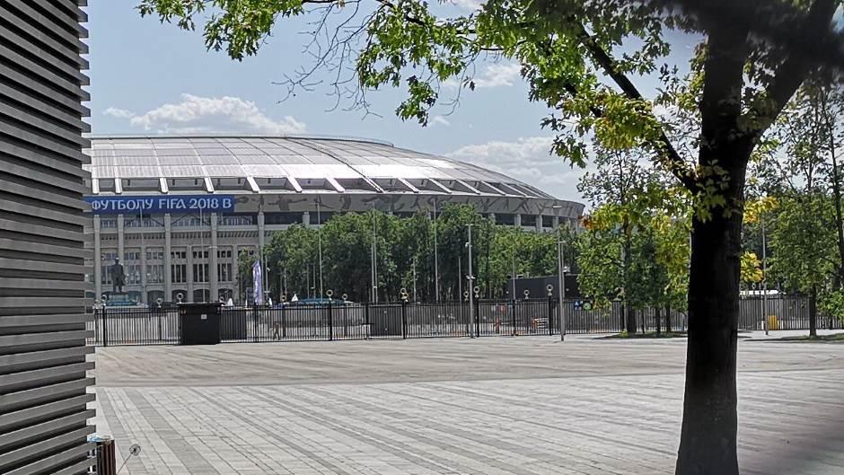 Lužnjiki Moskva Russia 2018