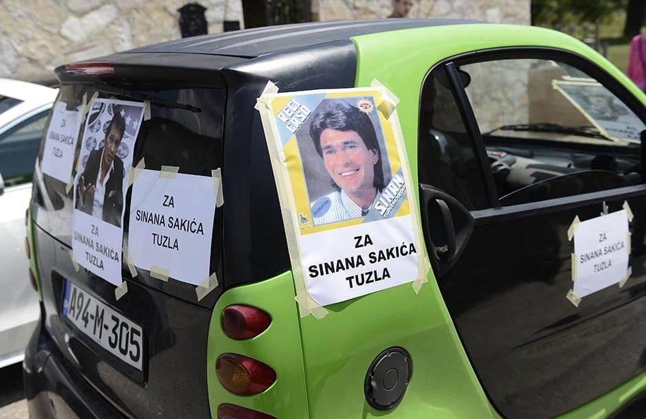 Poslednji pozdrav za Sinana Sakića