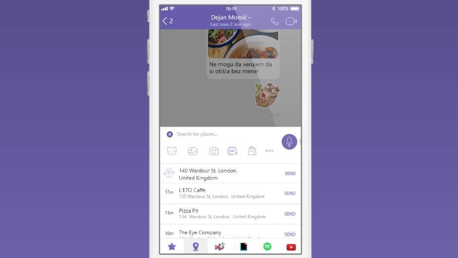Viber uveo nove dodatke za poruke (FOTO, VIDEO)