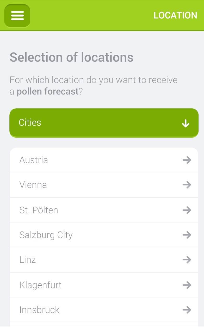 Praćenje polena na pametnim telefonima