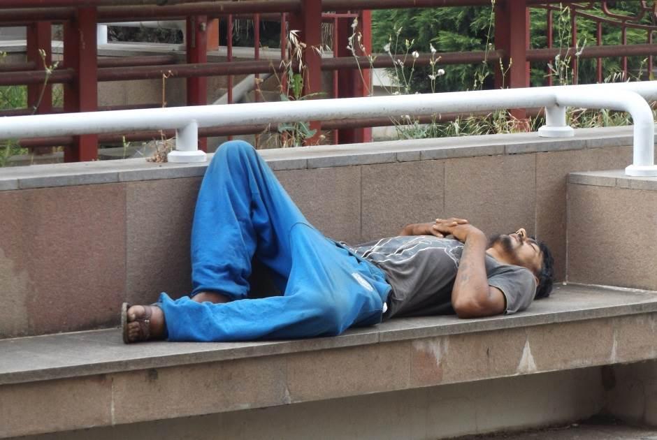 FOTO UBOD: Siesta na Trgu Vektre