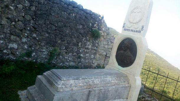 Redovno održavanje groba Marka Miljanova