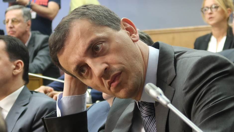 Predrag Bošković ministar bošković