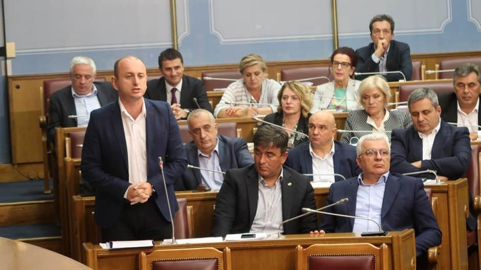df demokratski front poslanici df-a milan knežević