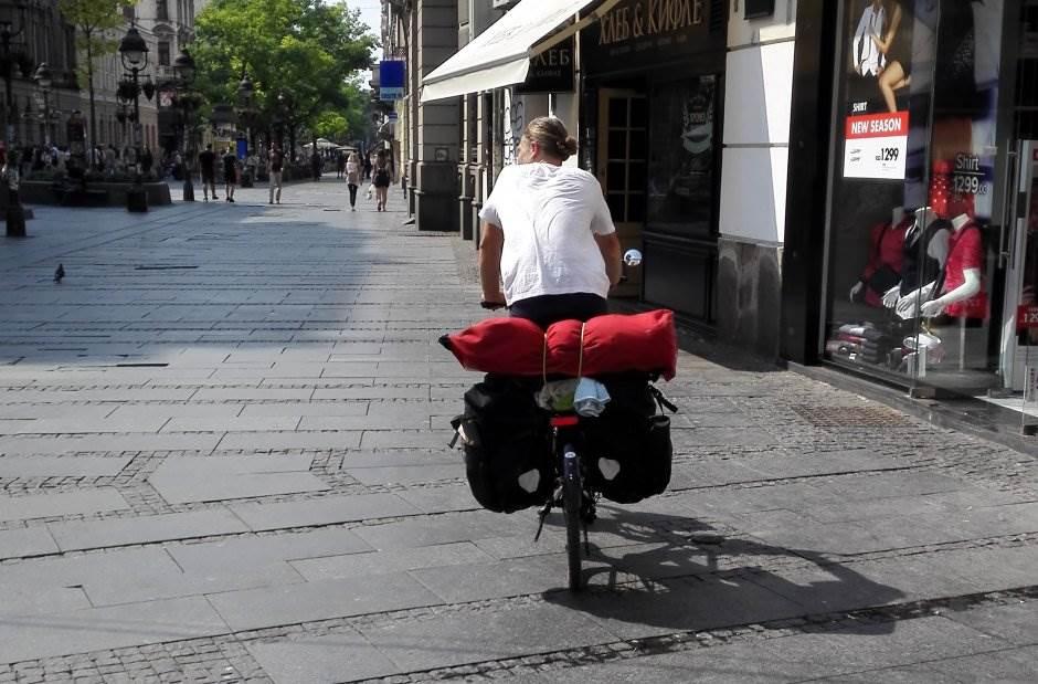 beograd, bicikl, biciklista, knez mihailova