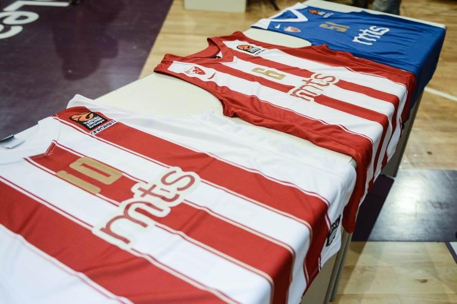 dres kk crvena zvezda, trening, košarkaši, crvena zvezda, kkcz