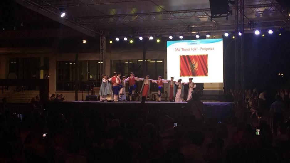 Počeo festival foklora djece i mladih u Podgorici