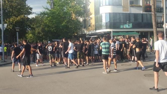 Partizan se miran vraća u Beograd