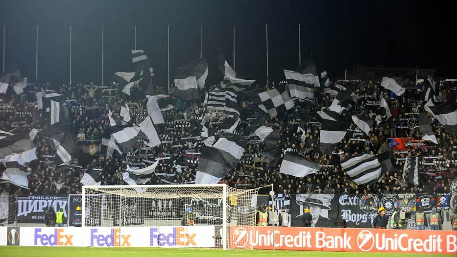 Grobari, navijači Partizana