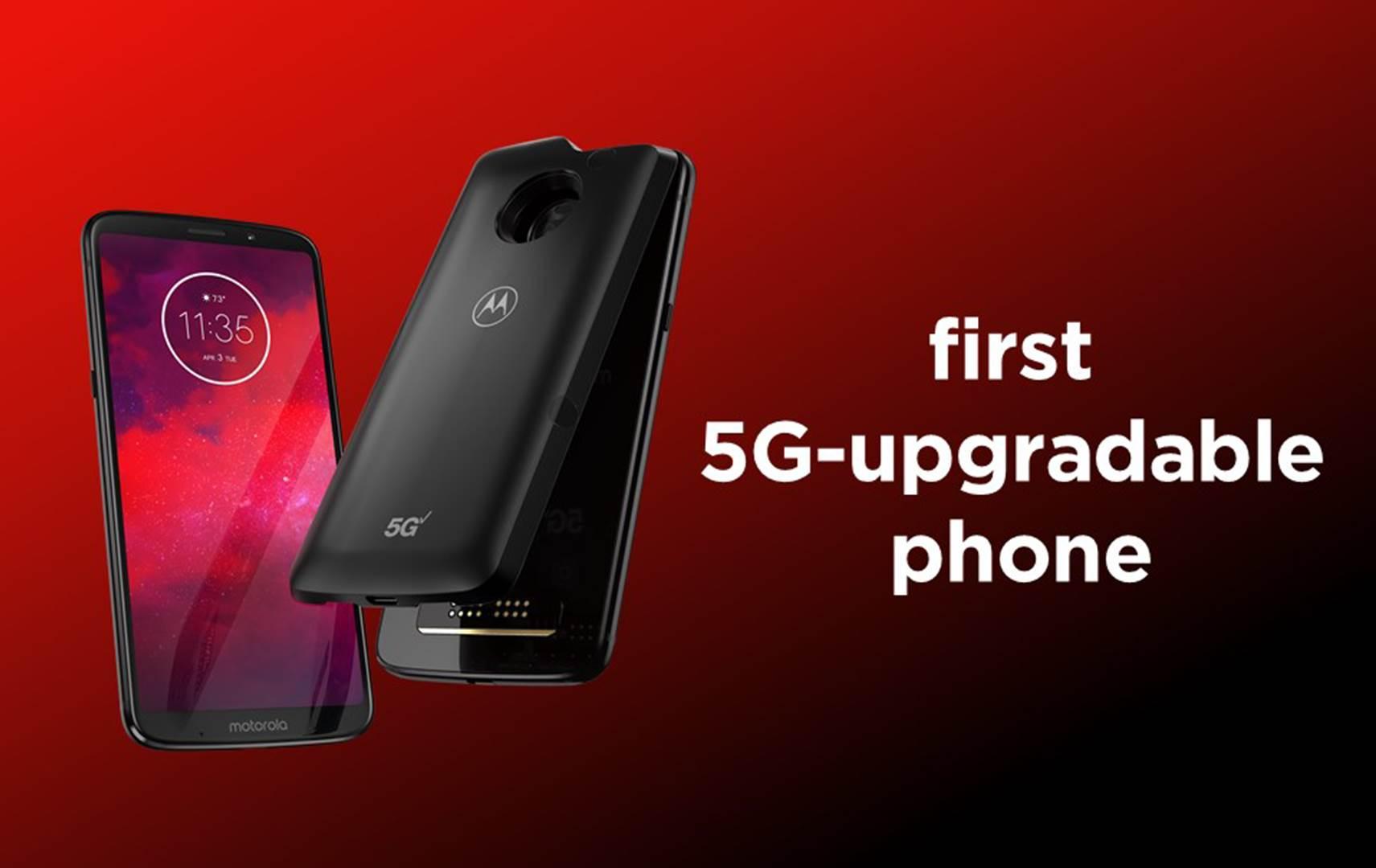 Moto 5G, Motorola Moto Z3, Moto Z3, Moto Mods