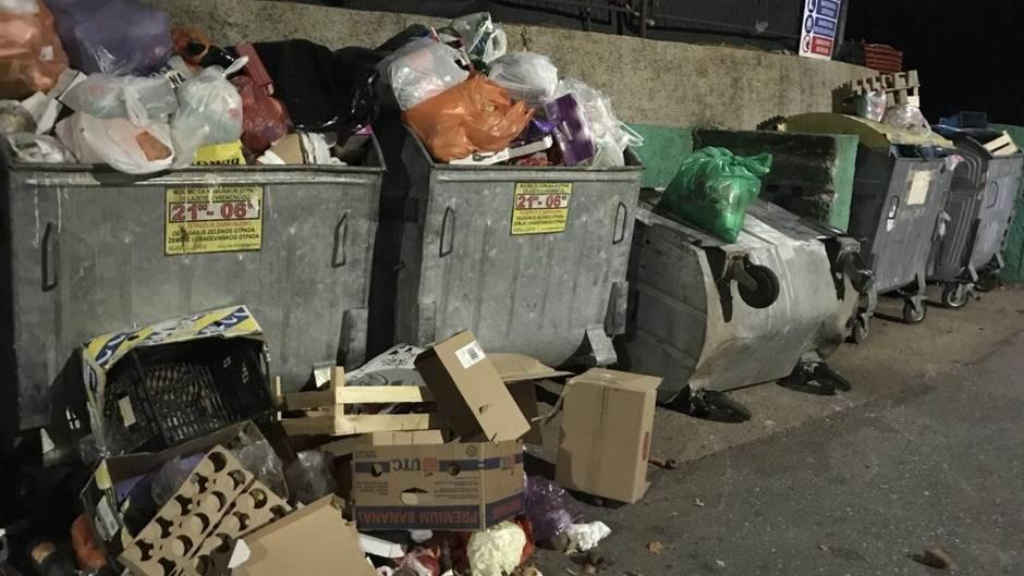 Herceg Novi smeće kontejneri
