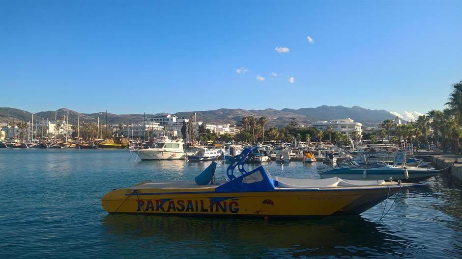 grčka, more,brodovi,čamac,leto, kos