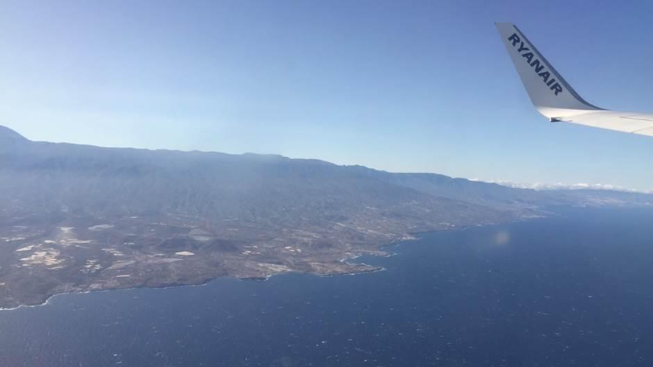 Rajaner, Ryanair, letenje, avion