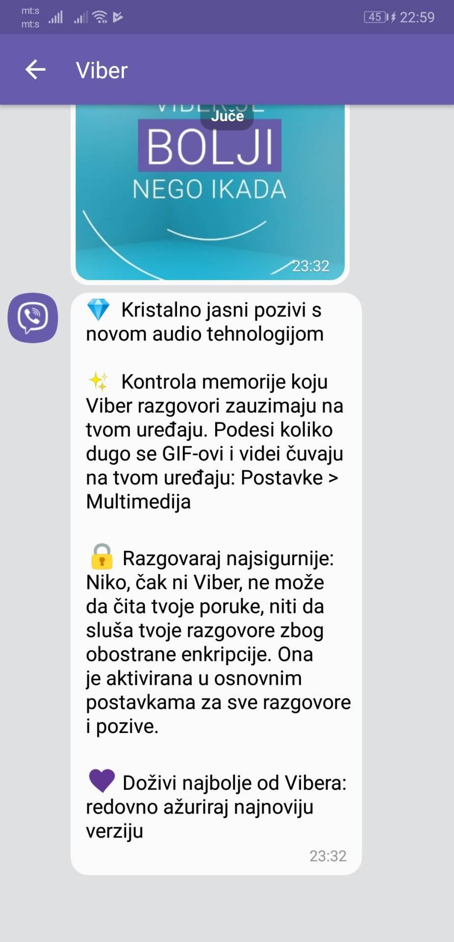 Viber sredio pozive i troši manje memorije
