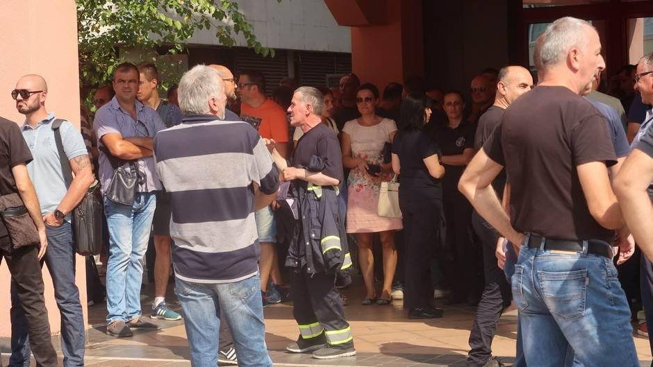 Protest sindikata zbog novog zakona o penzijama