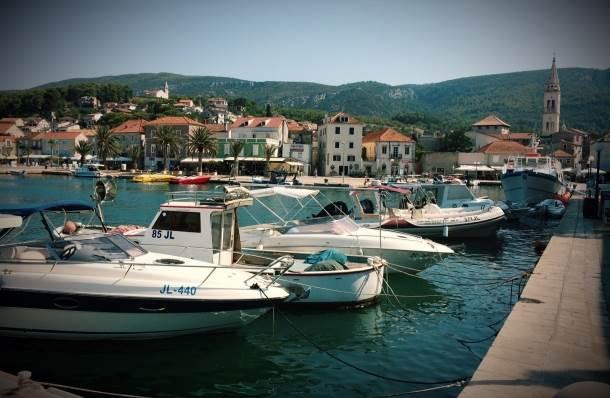 hrvatsko primorje, hvar, more, luka, jelsa, hrvatska