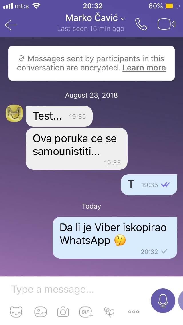 Novi Viber: Brže dopisivanje, liči na WhatsApp