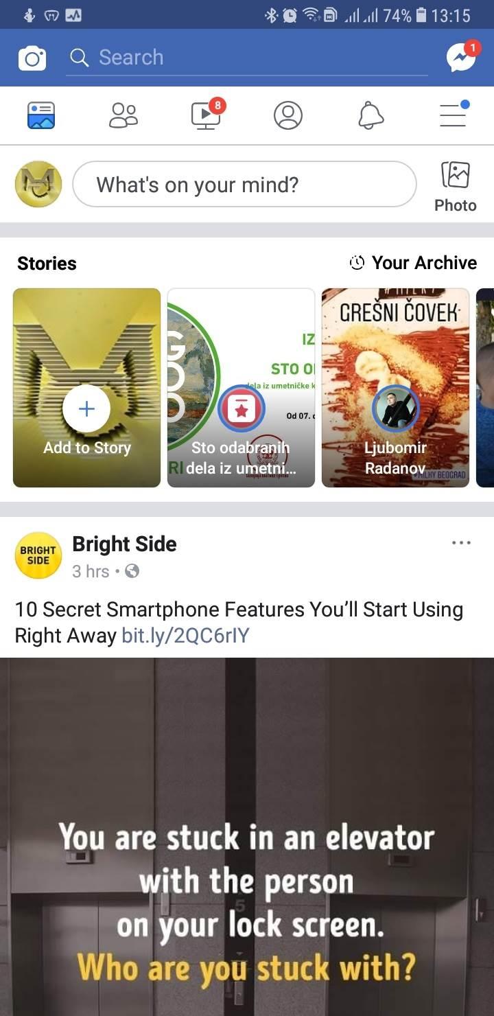 Facebook uveo novo dugme - je li vam stiglo?