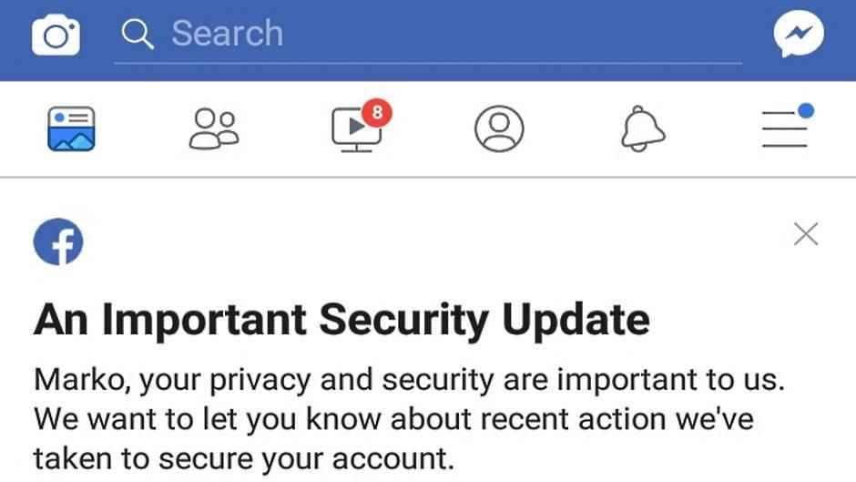 Facebook hakovanje poruka na profilu