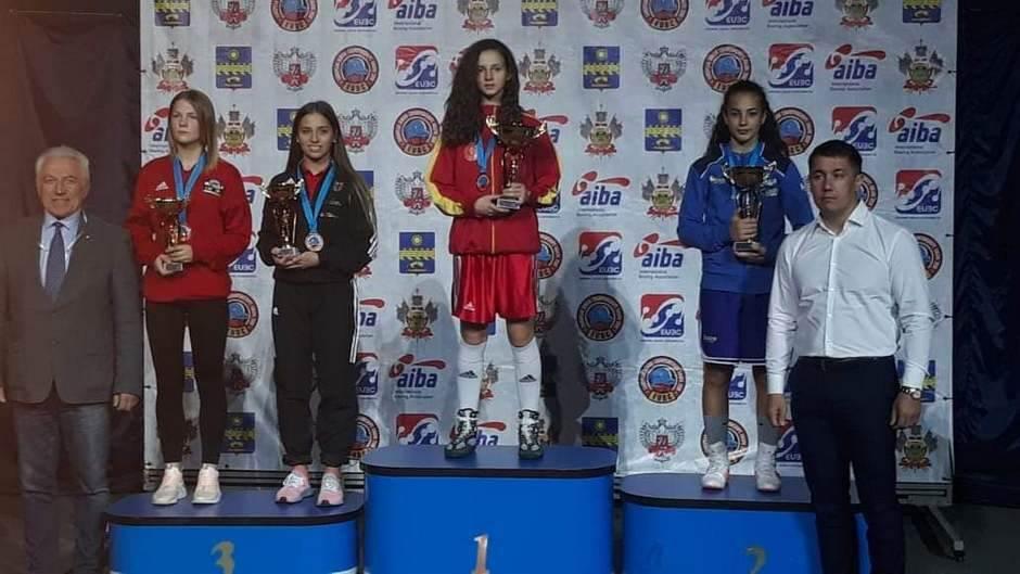 ISTORIJA: Crnogorska bokserka prvakinja Evrope!