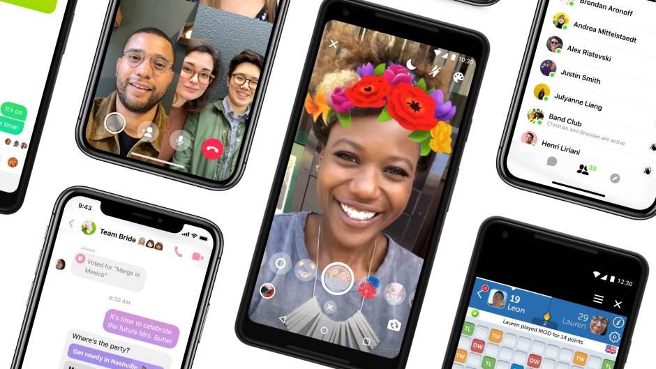 Ovo je potpuno nov Messenger: Nov izgled, manje opcija