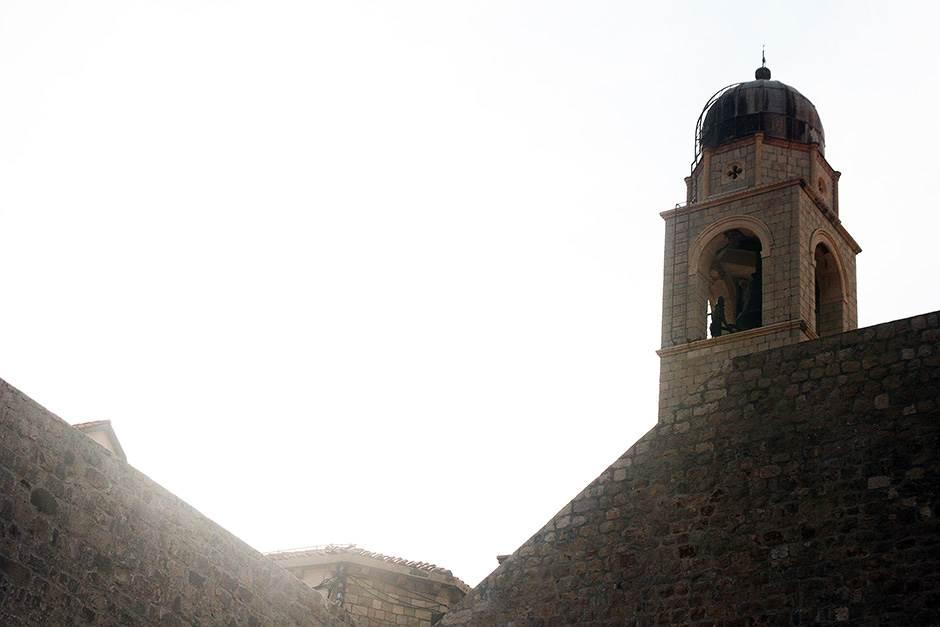 katolička crkva, dubrovnik, zvonik