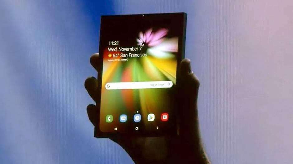 Prve slike i opis Samsung savitljivog telefona